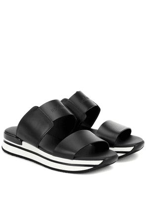 H257 leather sandals