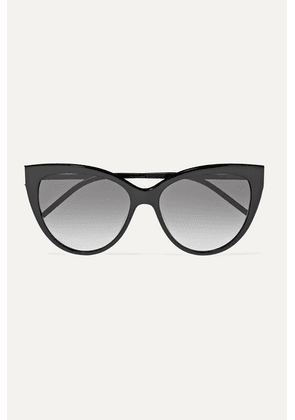 SAINT LAURENT - Cat-eye Acetate Sunglasses - Black