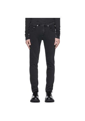 Neil Barrett Grey New Pierce Jeans