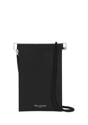 Leather Smart Phone Case W/strap