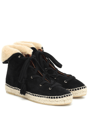 Gus suede espadrille ankle boots