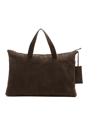 Marsell Brown Suede Large Monouso Tote