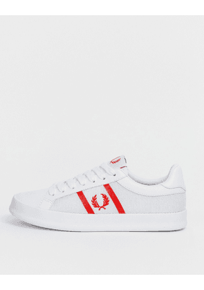 Fred Perry B721 Vulc leather trainer-White
