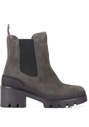 Tommy Hilfiger chunky heel boots - Grey