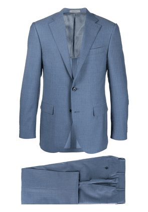 Corneliani striped two-piece suit - Blue