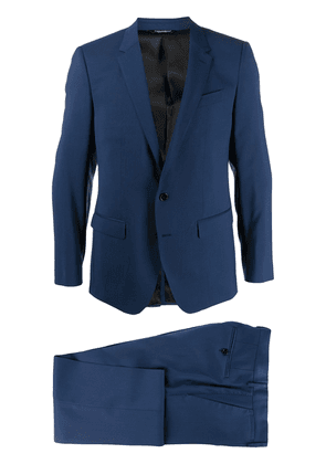 Dolce & Gabbana two-piece formal suit - Blue