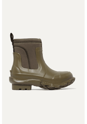 Stella McCartney - + Hunter Rubber And Yulex Ankle Boots - Army green