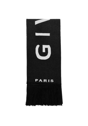 Givenchy Black and White Football Scarf