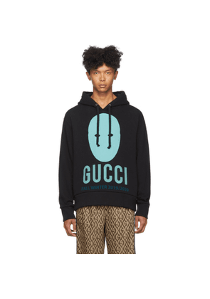 Gucci Black and Blue Manifesto Hoodie