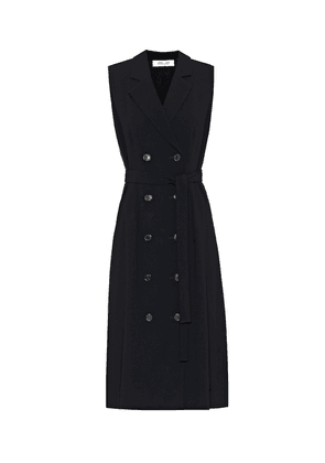 Hollie double-breasted midi dress