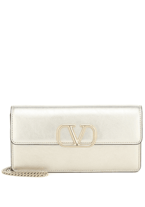 Valentino Garavani VLOGO Small leather clutch