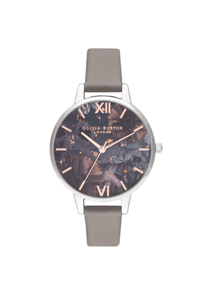 Celestial Demi Dial Watch - Grey, Rose Gold & Silver
