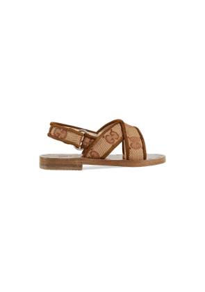 Toddler GG canvas sandal