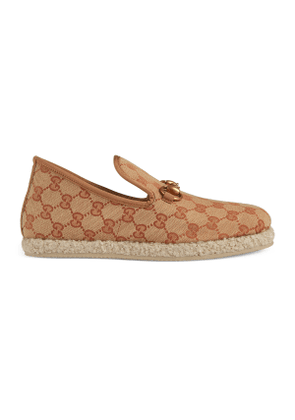 Women's GG canvas loafer