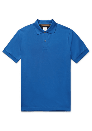Paul Smith - Cotton-piqué Polo Shirt - Blue