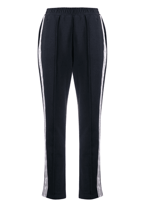 Tommy Hilfiger logo panel track trousers - Blue