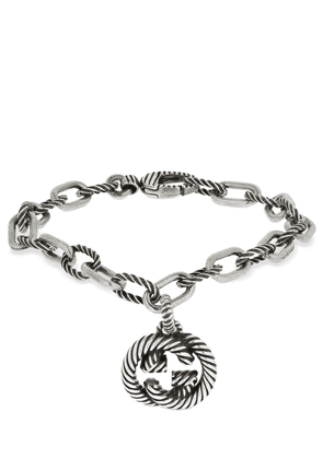 Interlocking G Pendant Bracelet