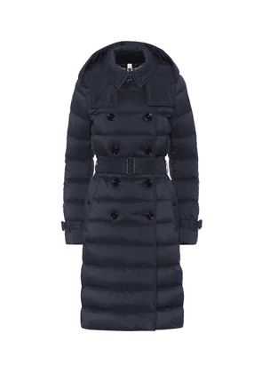 Quilted-down jacket
