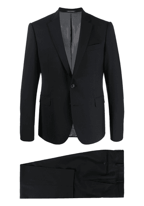 Emporio Armani fitted two piece suit - Black