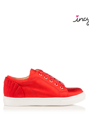 Charlotte Olympia Sale Women - INCY SEVILLE RED Satin 25