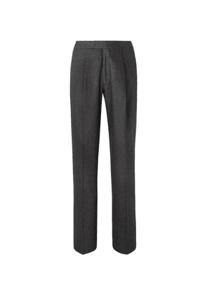The Row - Grey Martin Mélange Wool-blend Suit Trousers - Gray