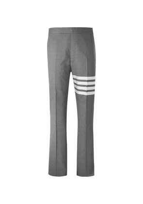 Thom Browne - Grey Slim-fit Tapered Striped Wool Suit Trousers - Gray