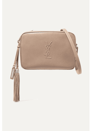 SAINT LAURENT - Lou Leather Shoulder Bag - Beige