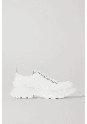 Alexander McQueen - Canvas Exaggerated-sole Sneakers - White