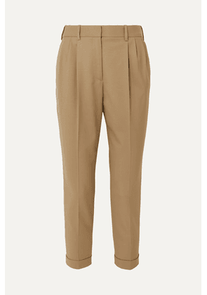 Nili Lotan - Montana Wool-blend Tapered Pants - Beige
