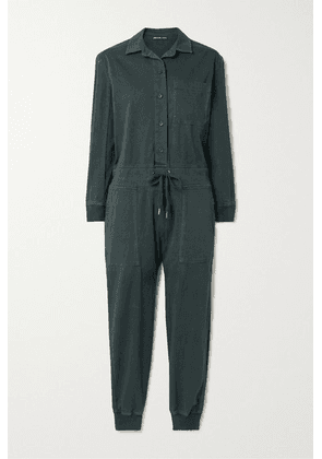 James Perse - Stretch-cotton Twill Jumpsuit - Black