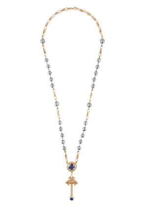 Dolce & Gabbana rosary embellished necklace - GOLD