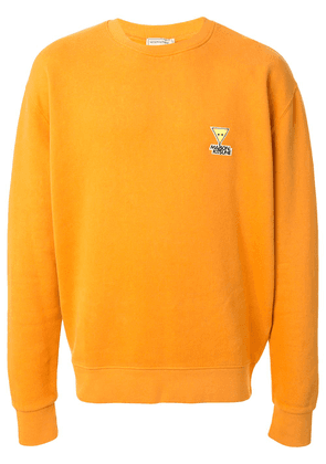 Maison Kitsuné oversized sweatshirt - ORANGE