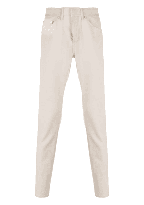 Neil Barrett stitched slim trousers - NEUTRALS