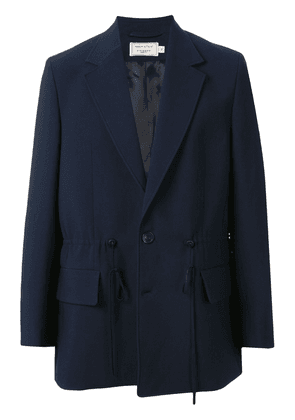 Maison Kitsuné boxy-fit jacket - Blue