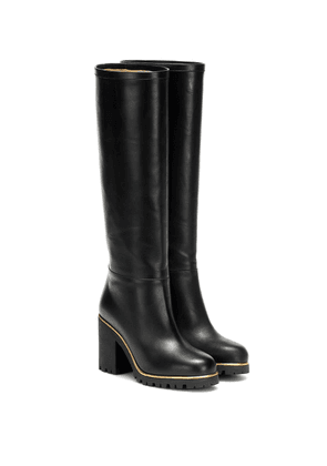 Barbara leather knee-high boots
