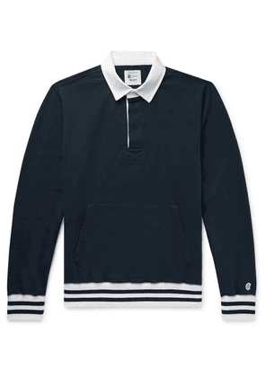 Todd Snyder + Champion - Loopback Cotton-jersey Rugby Shirt - Navy