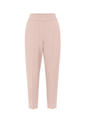 Tapered trackpants