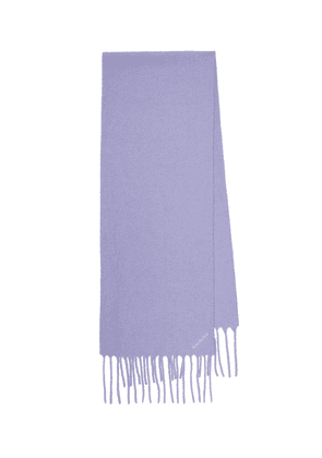 Villy wool-blend scarf