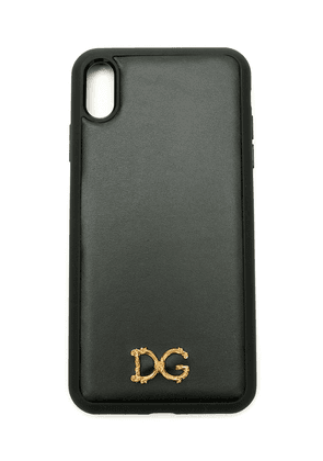 Dolce & Gabbana Baroque D & G iPhone XS Max case - Black