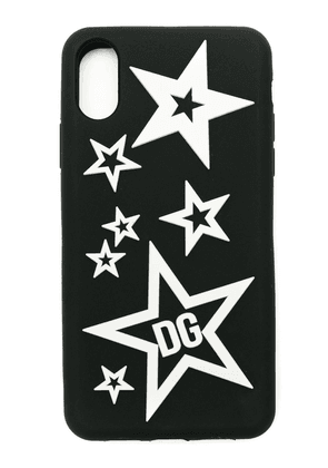 Dolce & Gabbana Mixed Star iPhone X case - Black