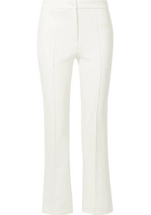 Theory - Cardinal Twill Straight-leg Pants - Ivory