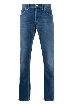 Dondup faded slim-fit jeans - Blue