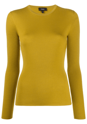 Theory Regal knit jumper - Yellow