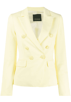 Pinko double-breasted jacket - Yellow