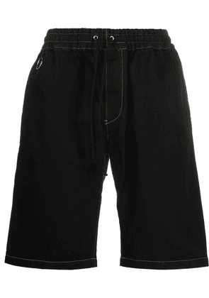 Undercover denim shorts - Black