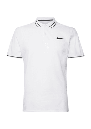 Nike Tennis - Nikecourt Advantage Dri-fit Tennis Polo Shirt - White
