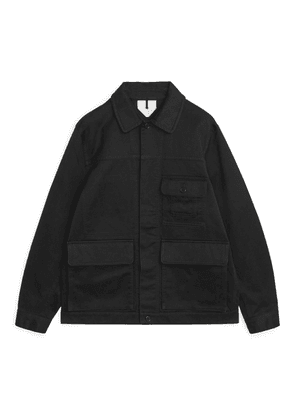 Moleskin Country Jacket - Black