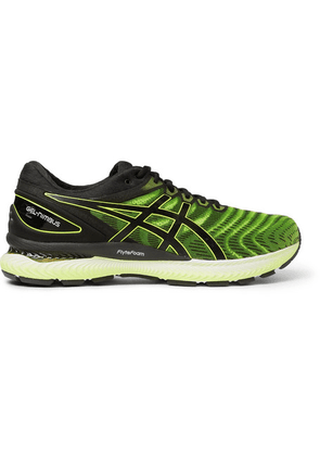 ASICS - Gel‑nimbus 22 Mesh And Rubber Running Sneakers - Yellow