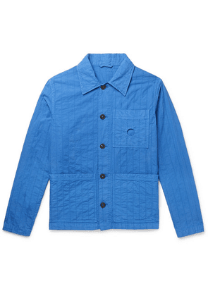 Craig Green - Quilted Cotton-canvas Chore Jacket - Blue