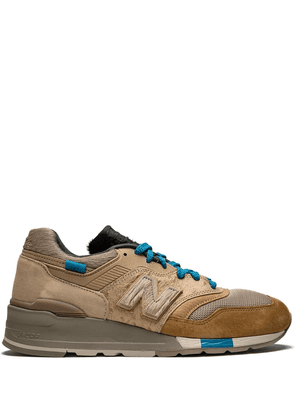 New Balance x Kith x nonnative M997 OG sneakers - Brown